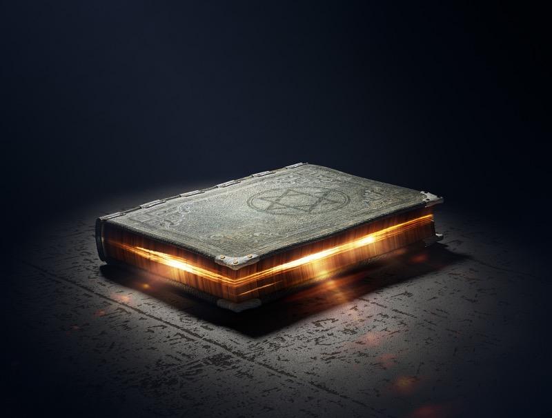 spell book, witchcraft spells